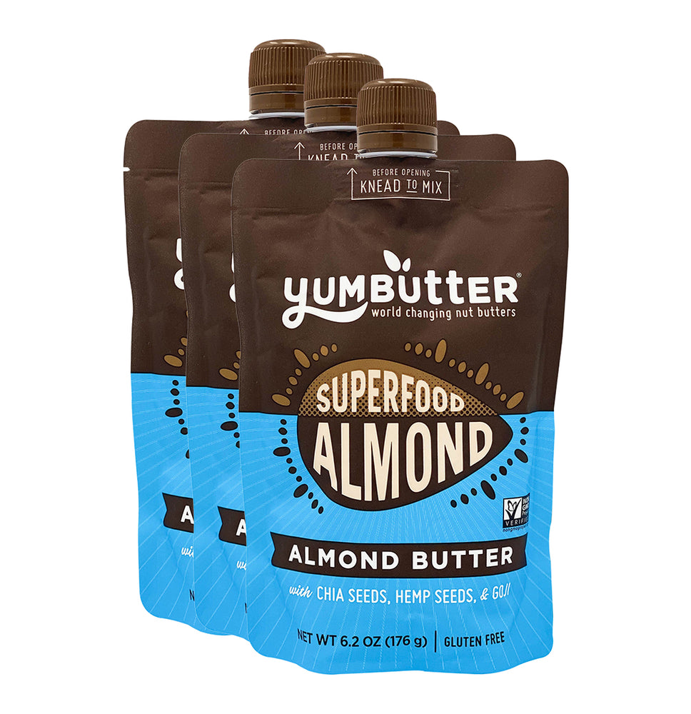 Superfood Almond Butter (3-Pack)