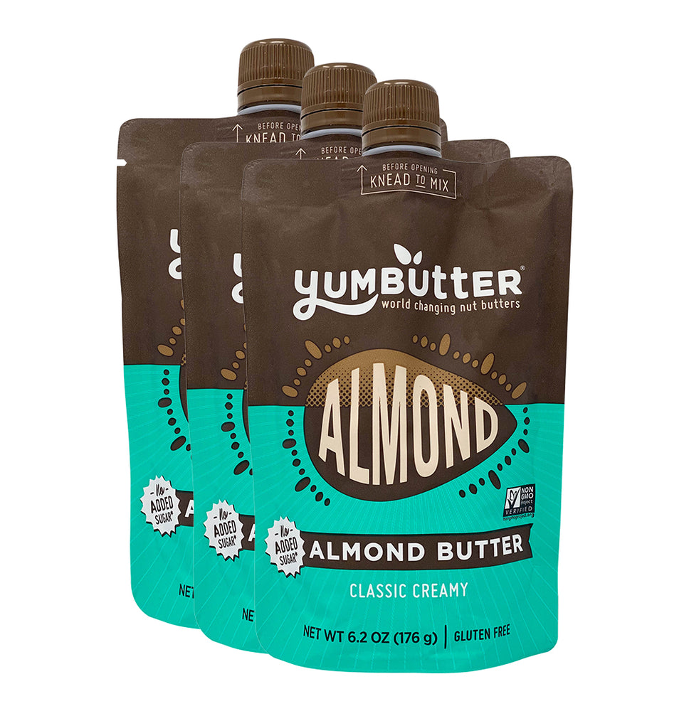 Classic Creamy Almond Butter - No Sugar Added* (3-Pack)