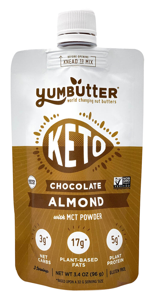 Keto Nut Butter – Chocolate Almond (4-Pack)