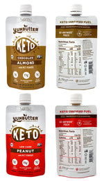 Keto Nut Butter – Variety Pack (4-Pack)