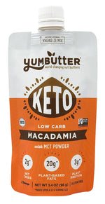 Keto Nut Butter – Macadamia (4-Pack)
