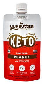 Keto Nut Butter – Peanut (4-Pack)
