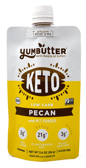 Keto Nut Butter – Pecan (4-Pack)
