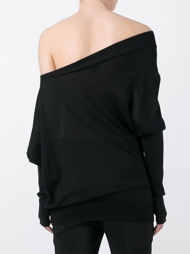 TOM FORD Off-shoulder Loose Fit Jumper