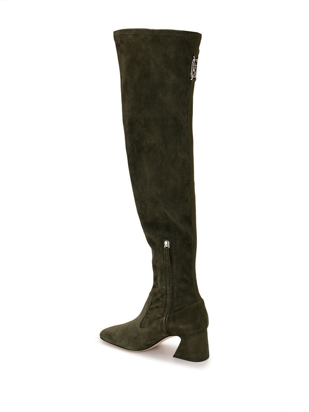 ALBERTA FERRETTI thigh-high boots