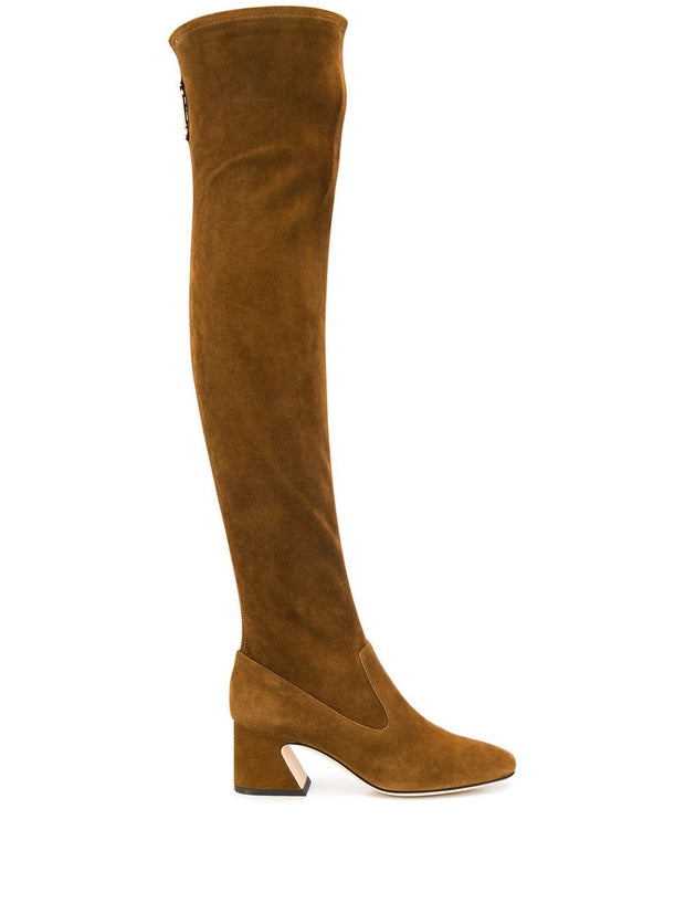 ALBERTA FERRETTI THIGH HIGH BOOTS