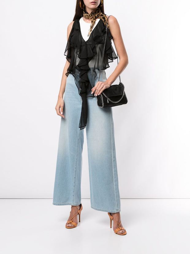 DSQUARED2 Ruffled Chiffon Blouse