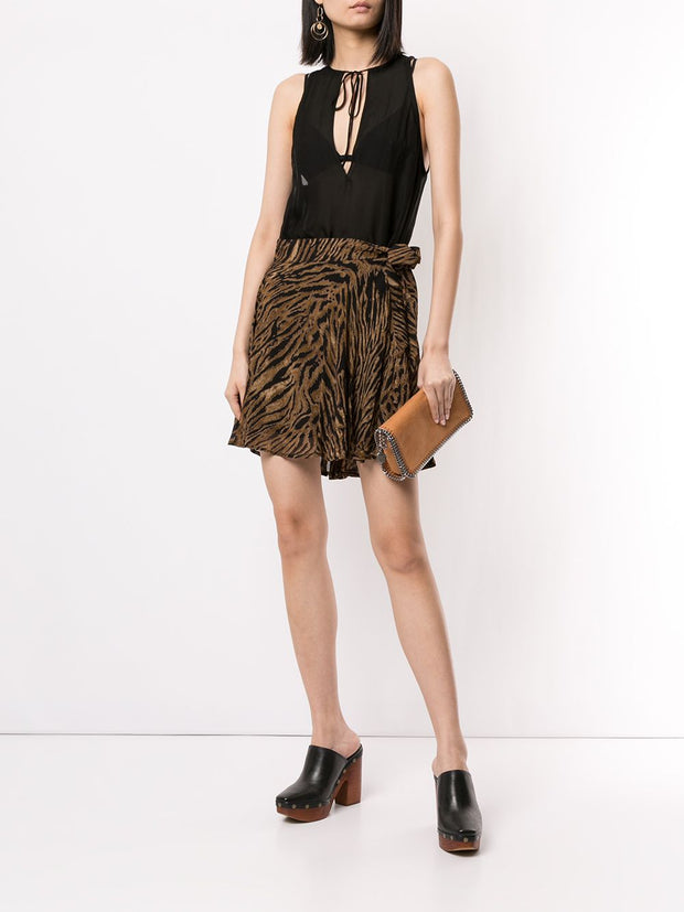 DSQUARED2 Sleeveless Silk Blouse