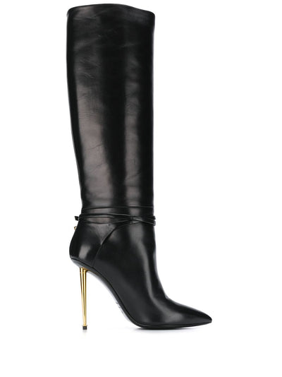 TOM FORD Contrast Stiletto Heel 120mm Boots