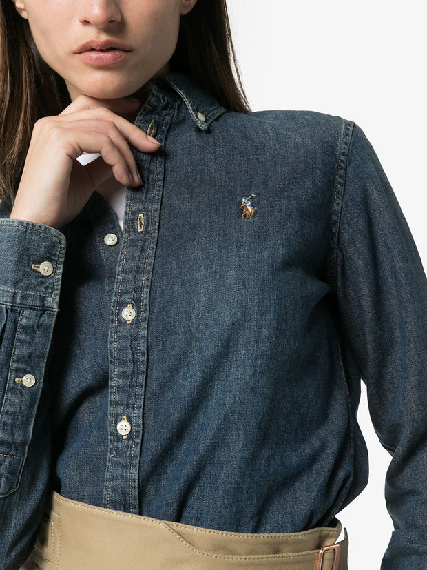 Polo Ralph Lauren Blaine Polo Pony denim shirt