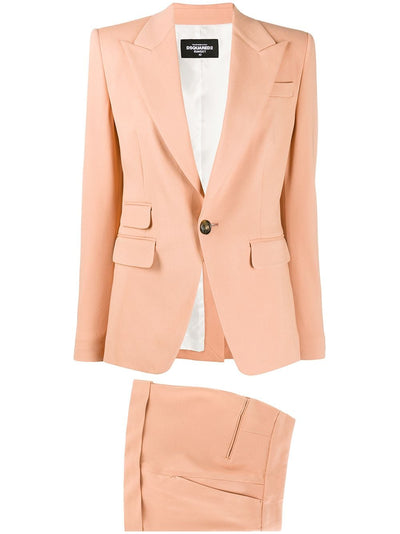 DSQUARED2 Plain Two-Piece Shorts Suit