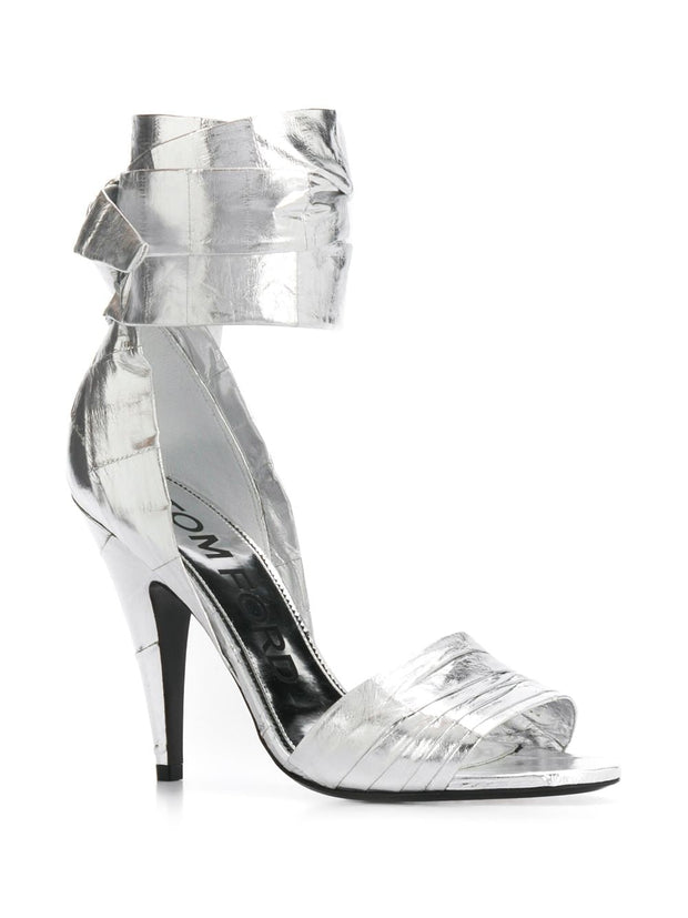 Tom Ford Ankle Strap High-Heeled Sandals