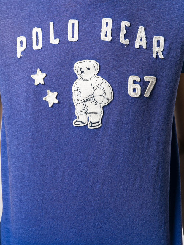 POLO RALPH LAUREN Polo Bear appliqué T-shirt