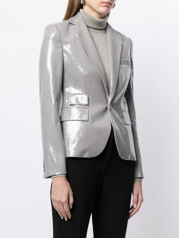 Ralph Lauren Collection single breasted sequin blazer