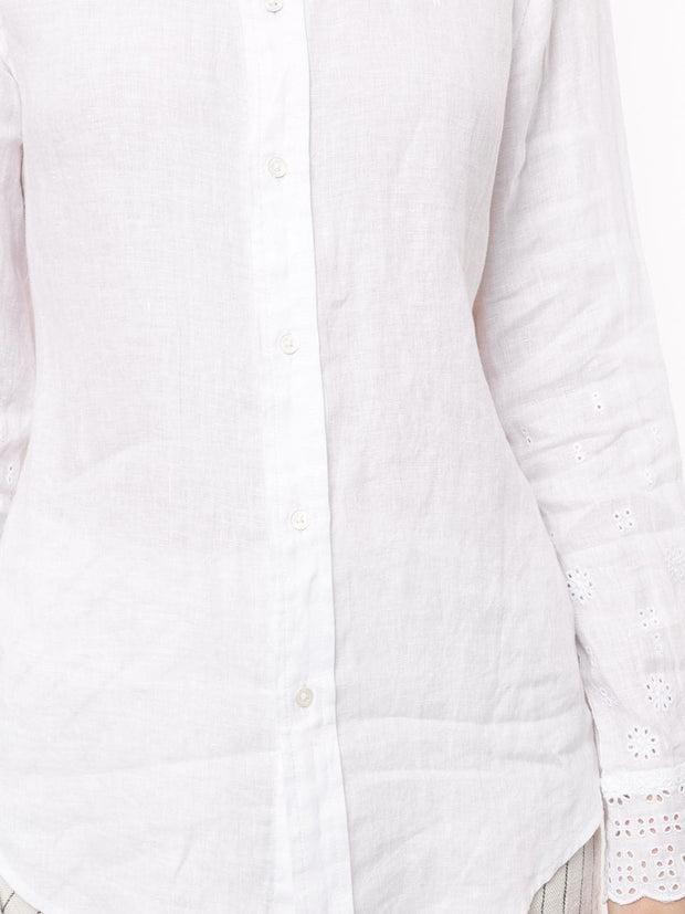 Polo Ralph Lauren Scalloped cuff shirt