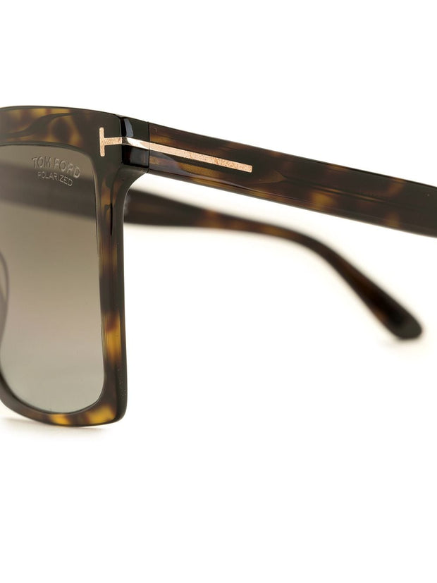 Tom Ford Eyewear Sabrina square-frame sunglasses