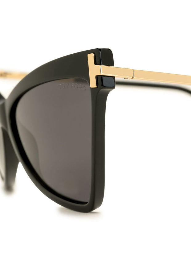 Tom Ford Eyewear Tallulah butterfly-frame sunglasses
