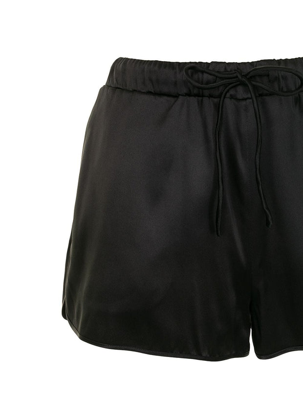 Carine Gilson silk fitted shorts