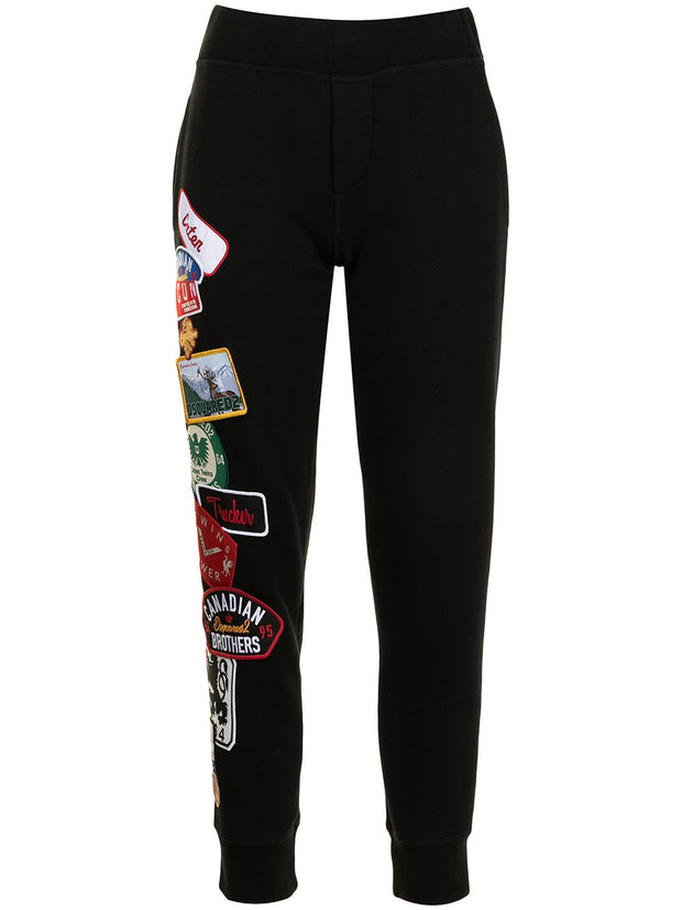 Dsquared2 patch-detail track pants
