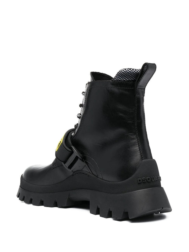Dsquared2 lace-up ankle boots