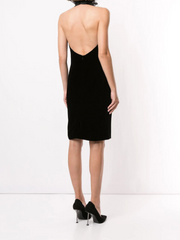 RALPH LAUREN COLLECTION DESARAE VELVET DRESS