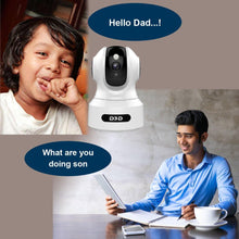 Load image into Gallery viewer, D3D Artificial Intelligent WiFi Home Security Camera with Face Detection & Alexa