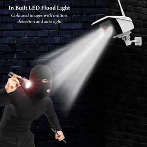 D3D WiFi Outdoor Home Security CCTV Camera with LED Flood Light Model: 836 (2MP)