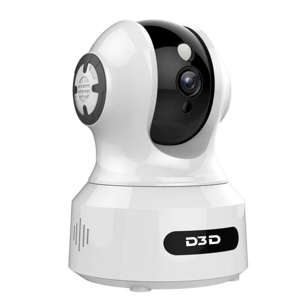 D3D alexa support wireless home security cctv camera