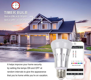 control home lights using D3D smart wifi bulb
