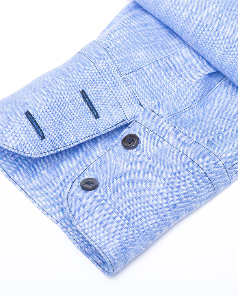 Tailored - Blue Linen