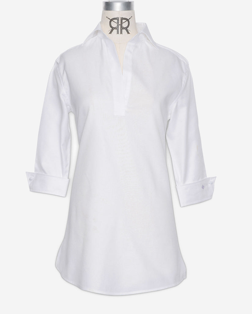 Tunic - White Oxford