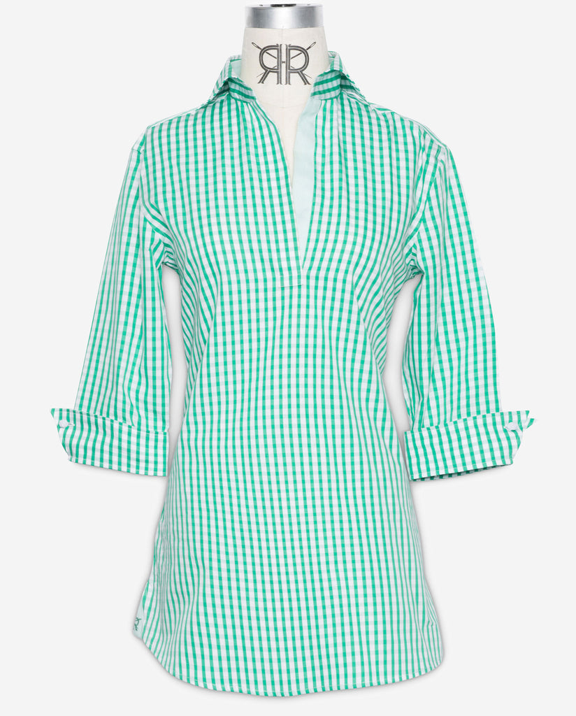 Tunic - Green Gingham