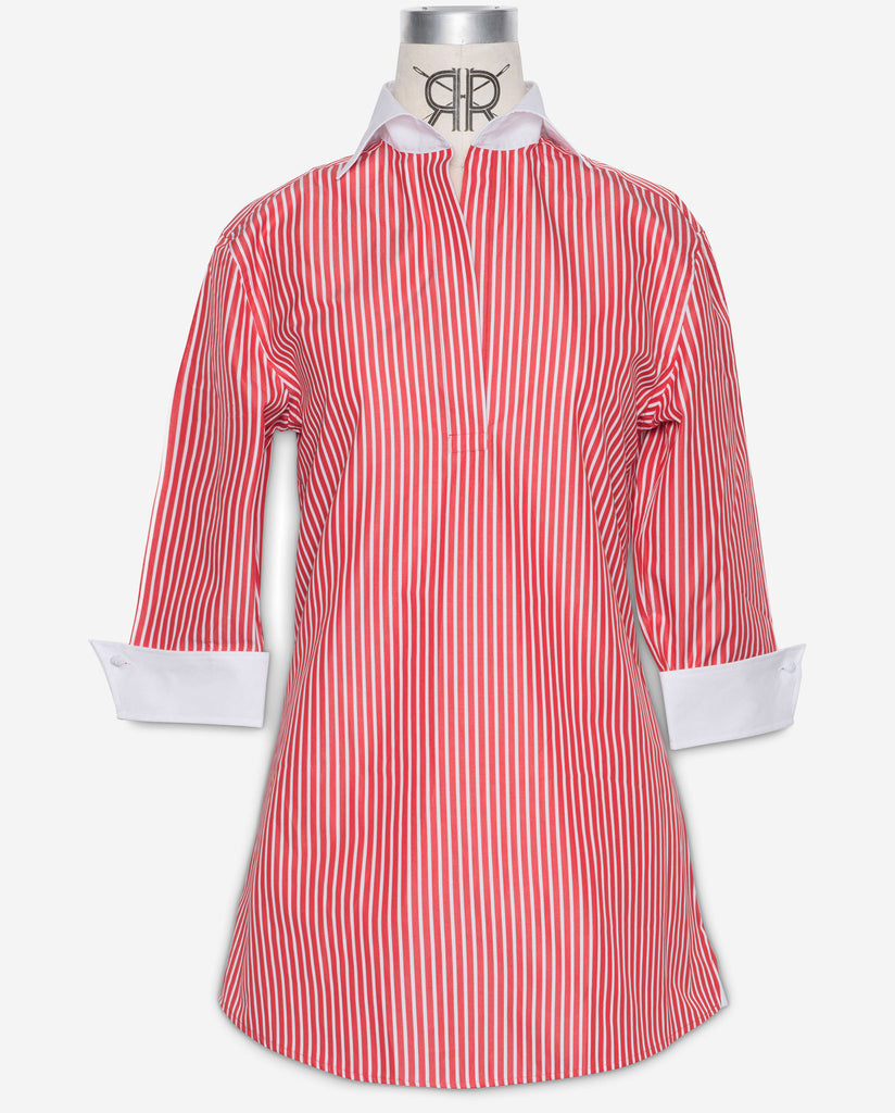 Tunic - Red Bengal Stripe