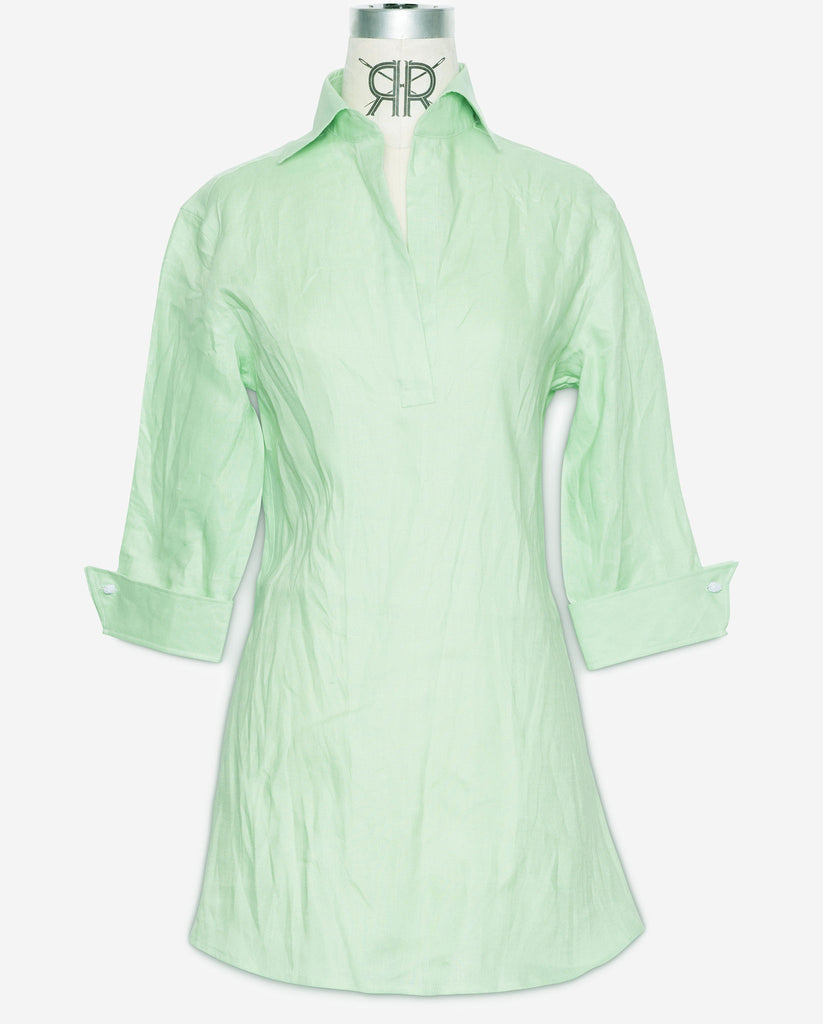 Tunic - Sea Green Linen