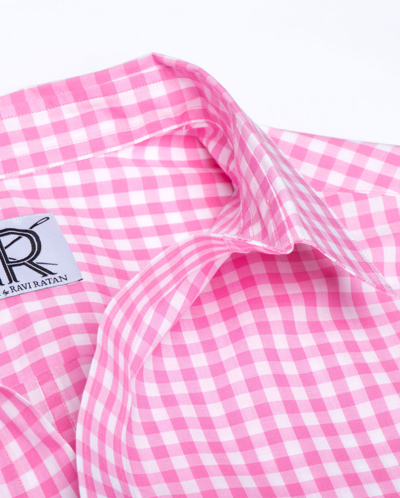 Tailored - Pink and White Gingham