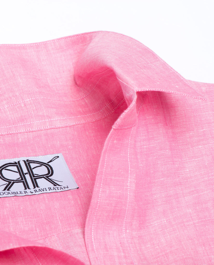 Tailored - Bright Pink Linen