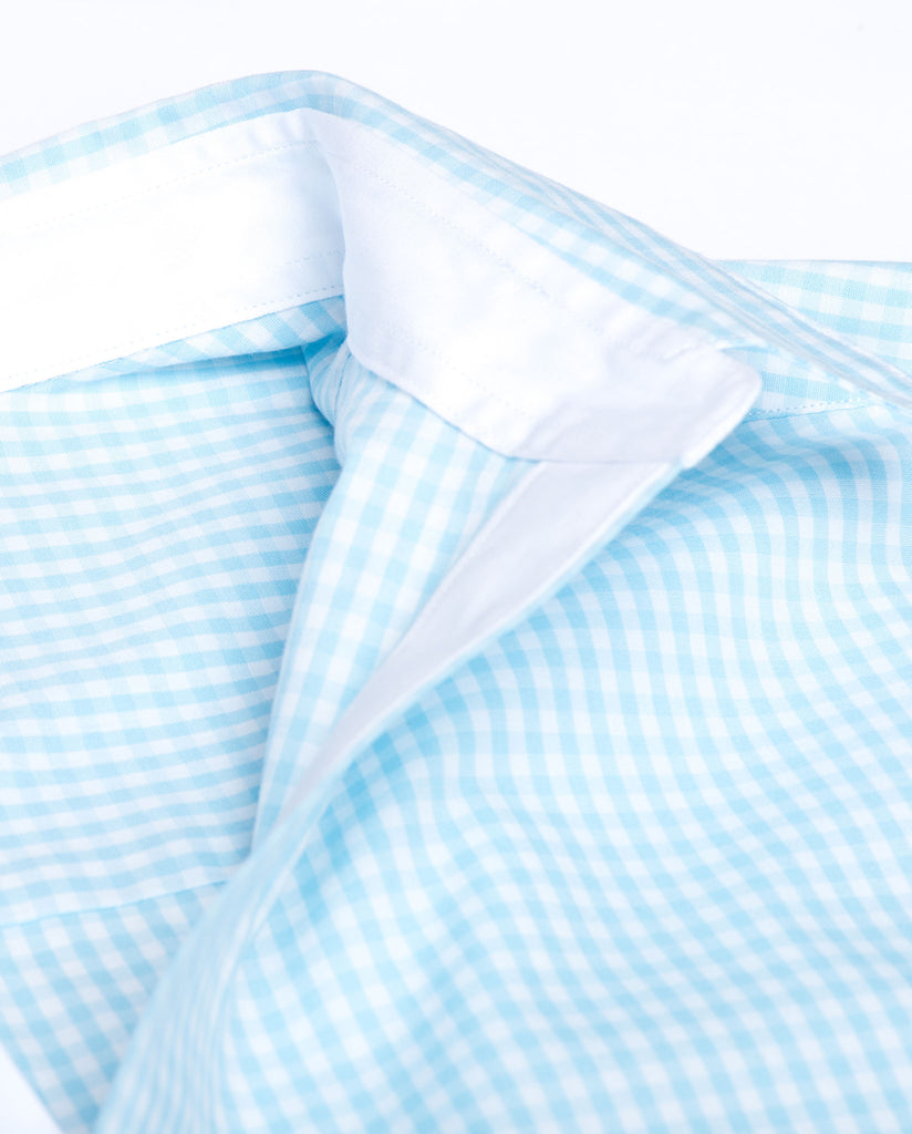 Tailored - Aqua Gingham