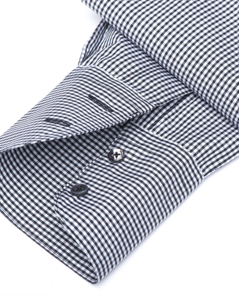 Tailored - Black and White Gingham Check