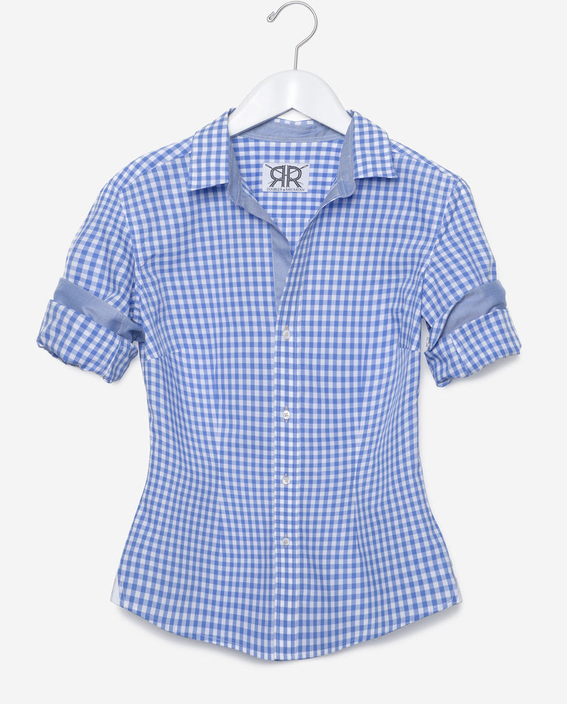 Tailored - Blue Gingham