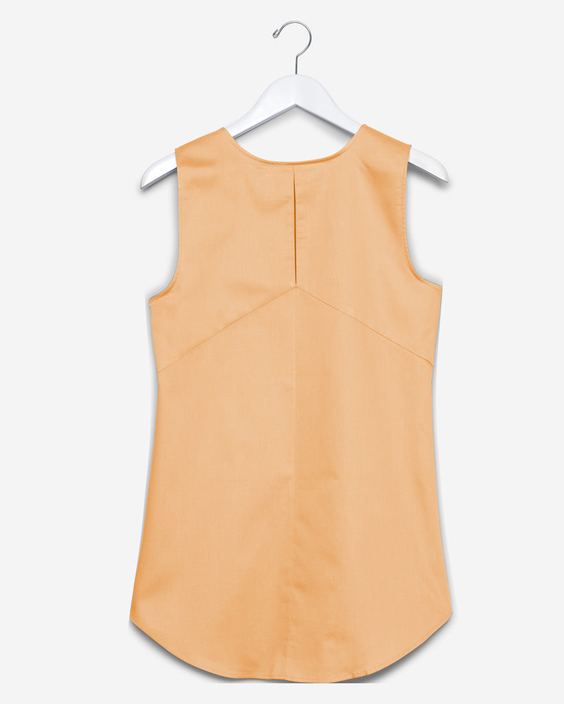 Sleeveless - Burnt Orange