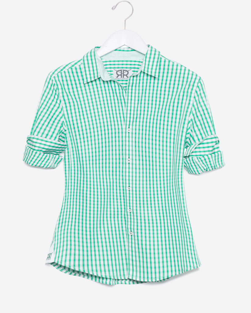 Tailored - Green Gingham