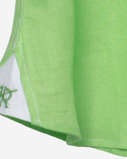 Tailored - Neon Green Linen
