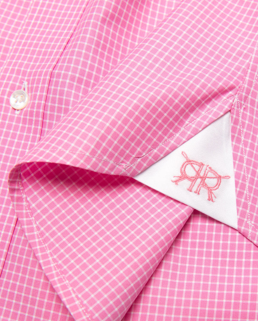 Tailored - Rose with White Check