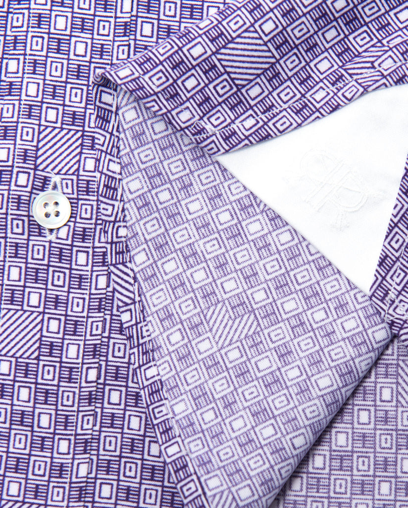 Tailored - Purple Print