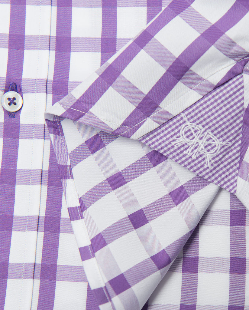 Tailored - Purple Gingham
