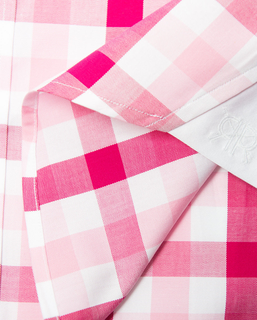 Tailored - Raspberry Gingham