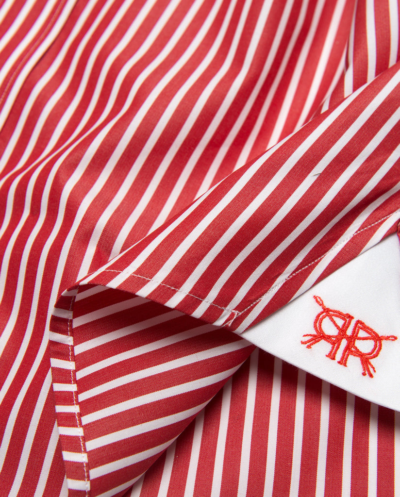Tailored - Red Bengal Stripe