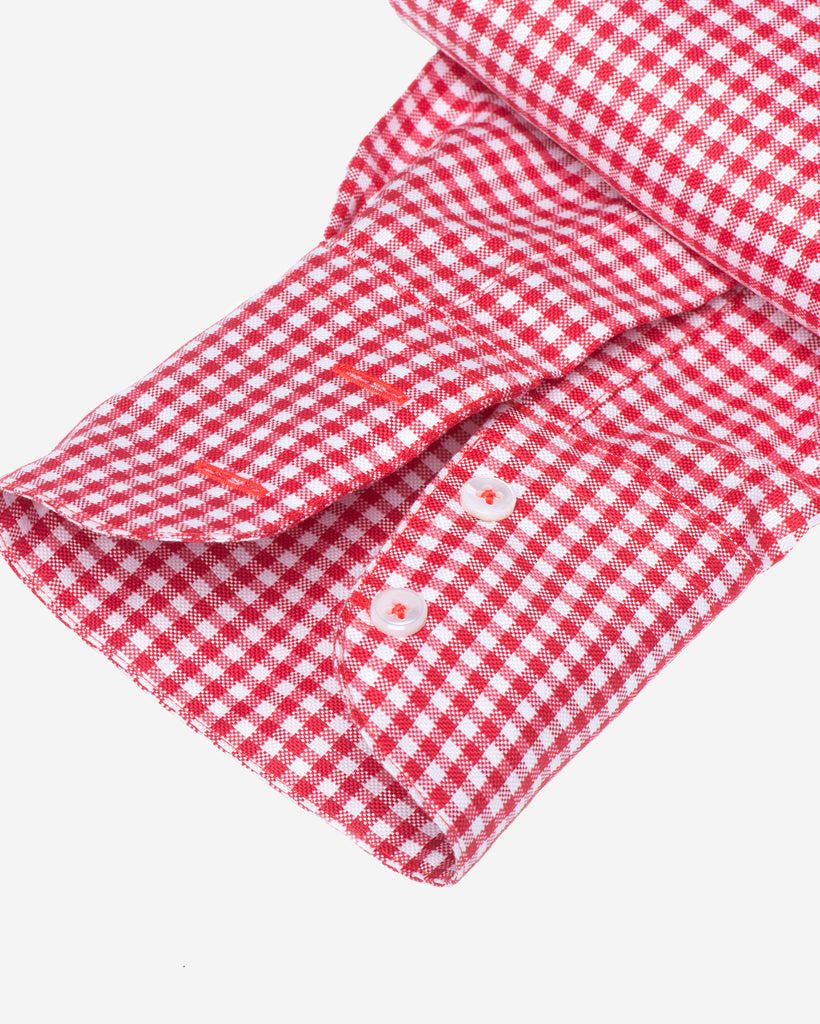 Tailored - Red Gingham