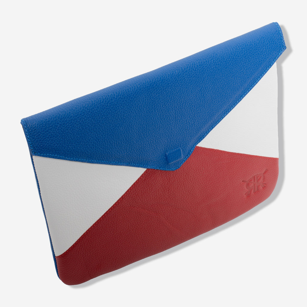 Red White and Blue Clutch
