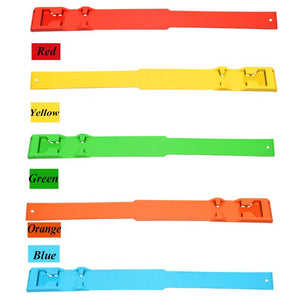 Multicolor Cattle Identification Ring Cow Mark Band Green Red Yellow Orange Blue Color Footmark Band Farm Animal